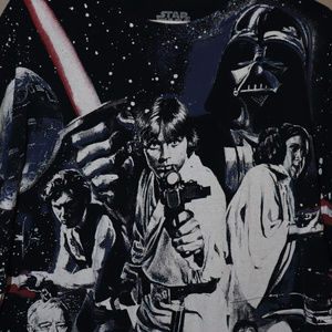 Star Wars 2XL all over print Shirt Group